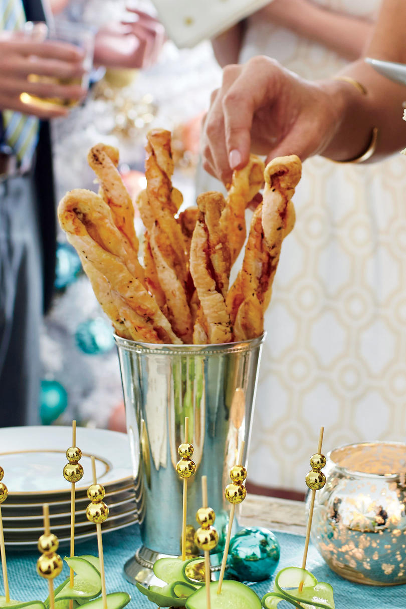 Prosciutto-and-Manchego Cheese Straws