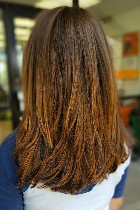 For Straight Hair: No-Fuss Long