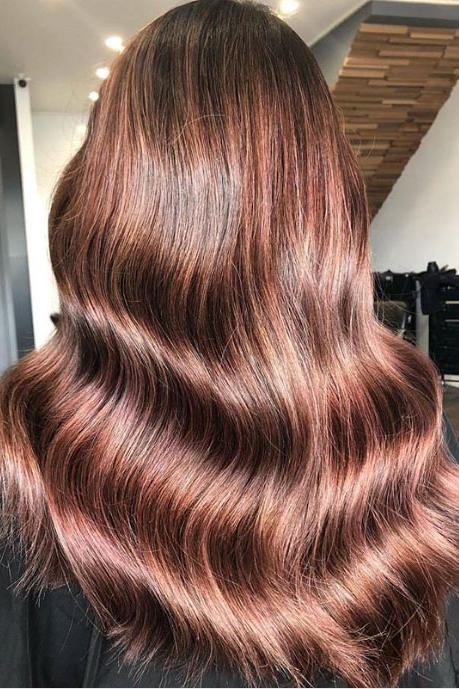 Rose Brown Ombré