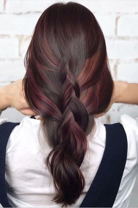brown hair color styles hair color trends for brunettes that ll make 2018 4507 | 2