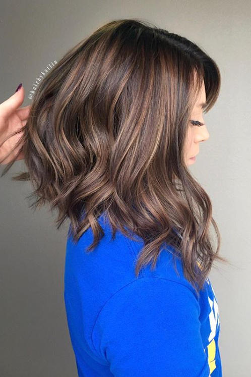 Long Angled Bob Haircuts That Prove Blunt Isn T Always Better