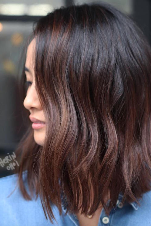 Cold Brew Hair Is Trending For Fall And Brunettes