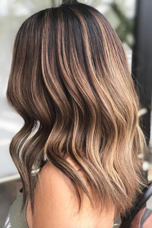 brown hair colours and styles brown hair color ideas for 2018 southern living 5247 | cold brew