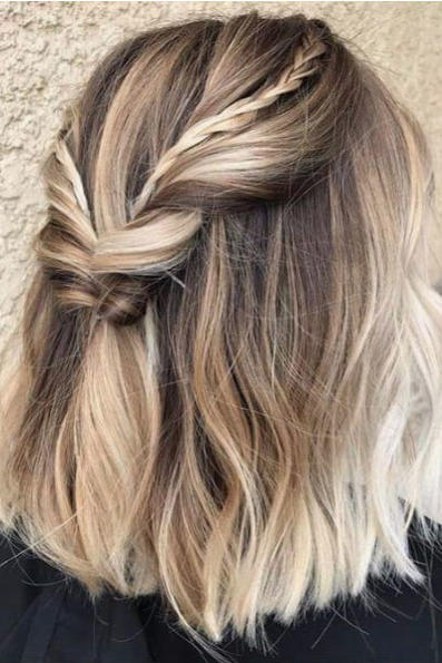 Braided Blunt Lob