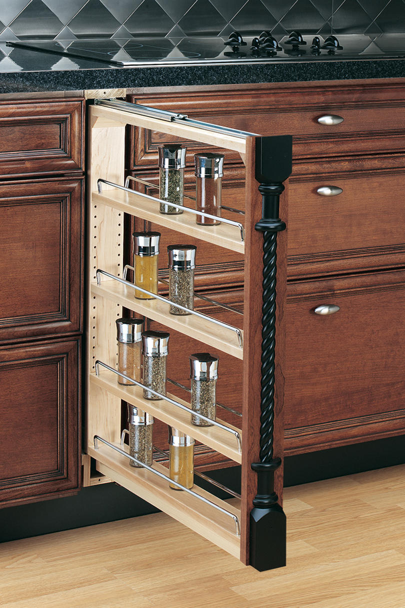 Rev-A-Shelf Pull-Out Between Cabinet Base Filler