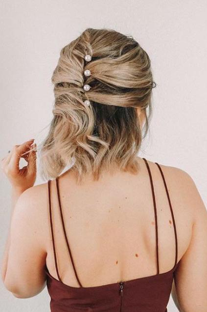 25 Easy Wedding Guest Hairstyles That Ll Work For Every