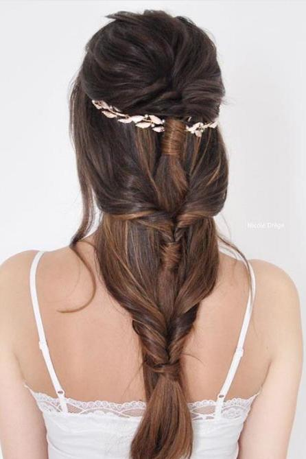 Grecian Goddess Braid