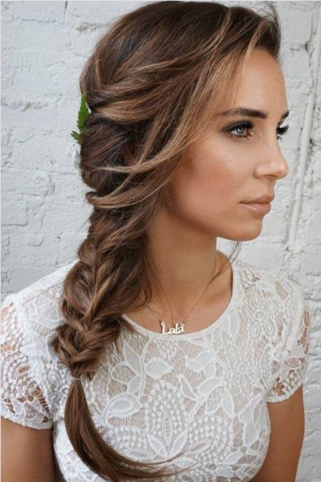 Romantic Side Braid