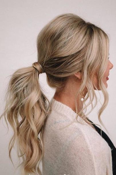 Volume-Packed Ponytail