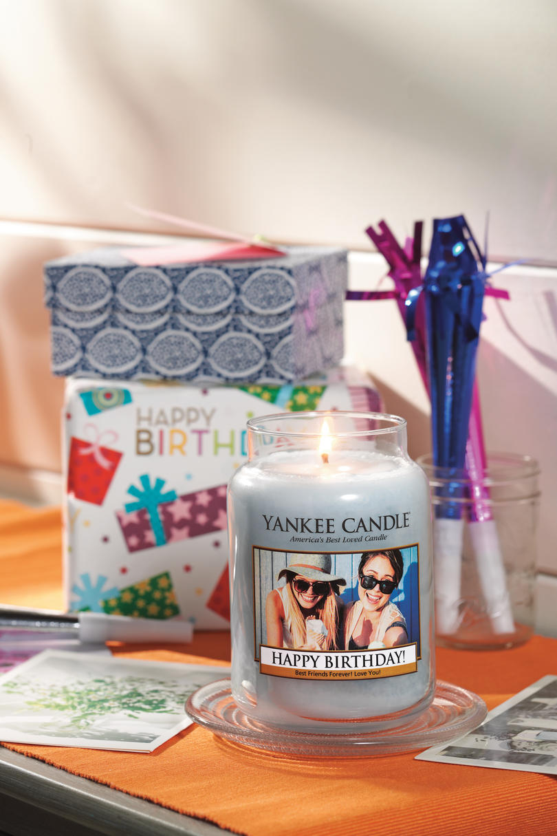 Yankee Candle Personalized Candles