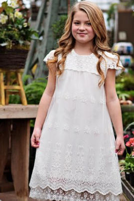 White Lace Grace Dress