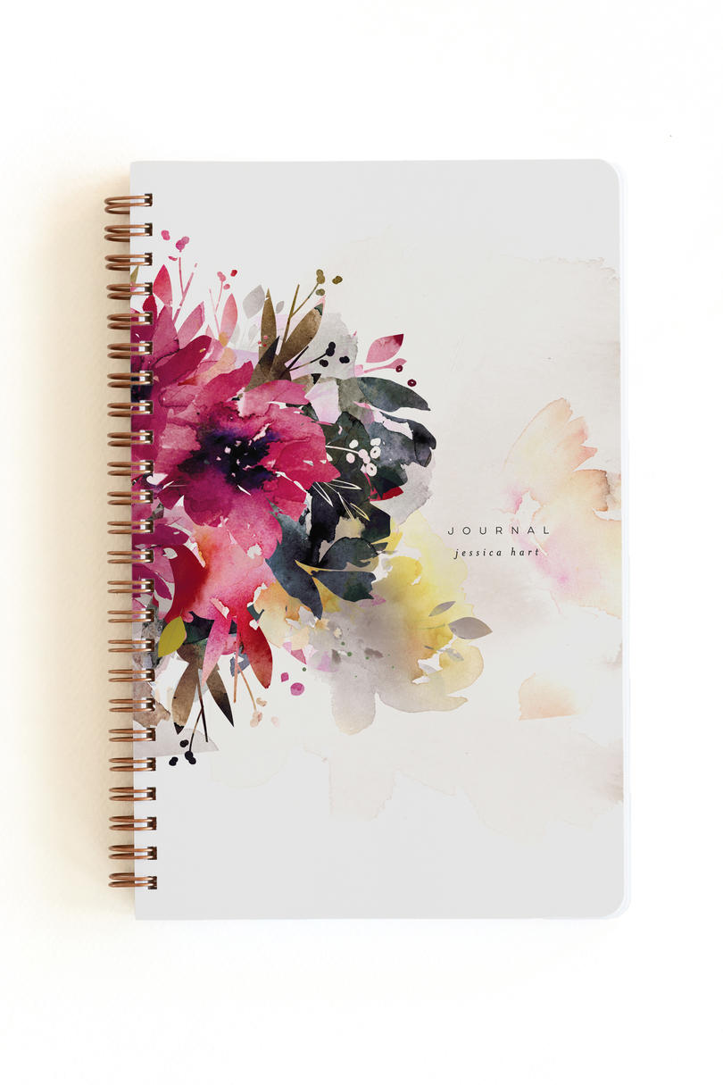 minted. Bloom Notebook by Lori Wemple, $16