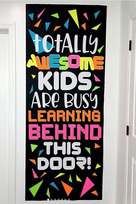 Fun Classroom Door Decorations To Welcome Students Back To