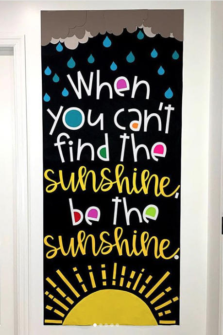 When You Can't Find the Sunshine, Be the Sunshine