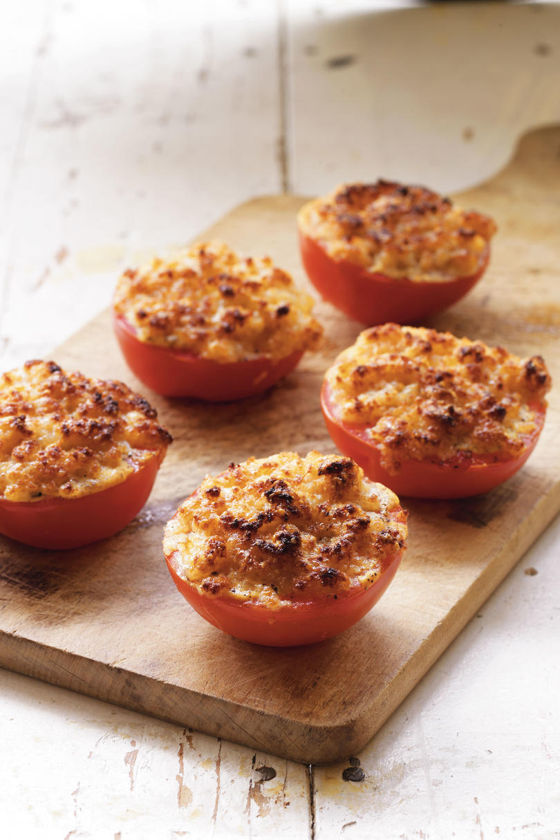 Crusty Broiled Tomatoes