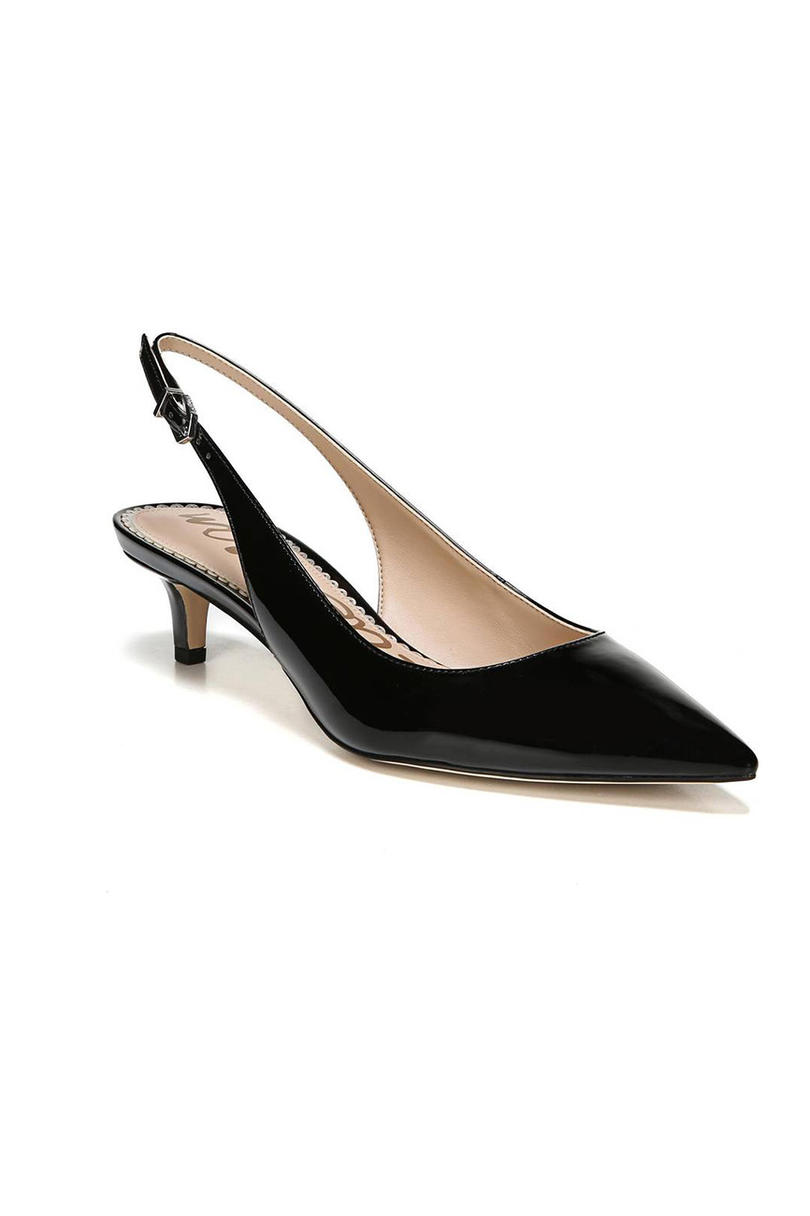 Ludlow Slingback Pump in black