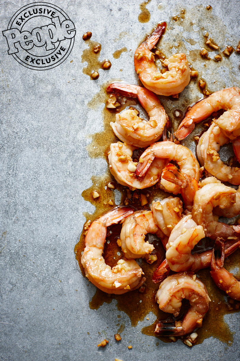 SKILLET GINGER SHRIMP