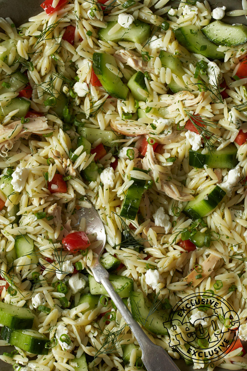 LEMON CHICKEN & ORZO SALAD