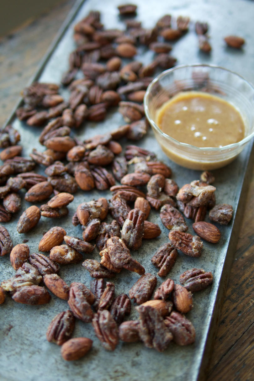 Caramel-Spiced Nuts image