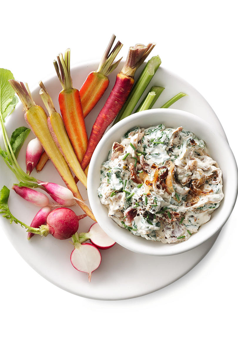 Caramelized Endive and Bacon Dip