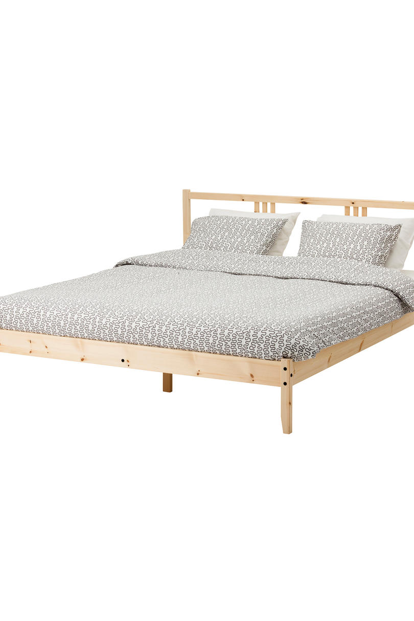 FJELLSE Solid Wood Bed Frame