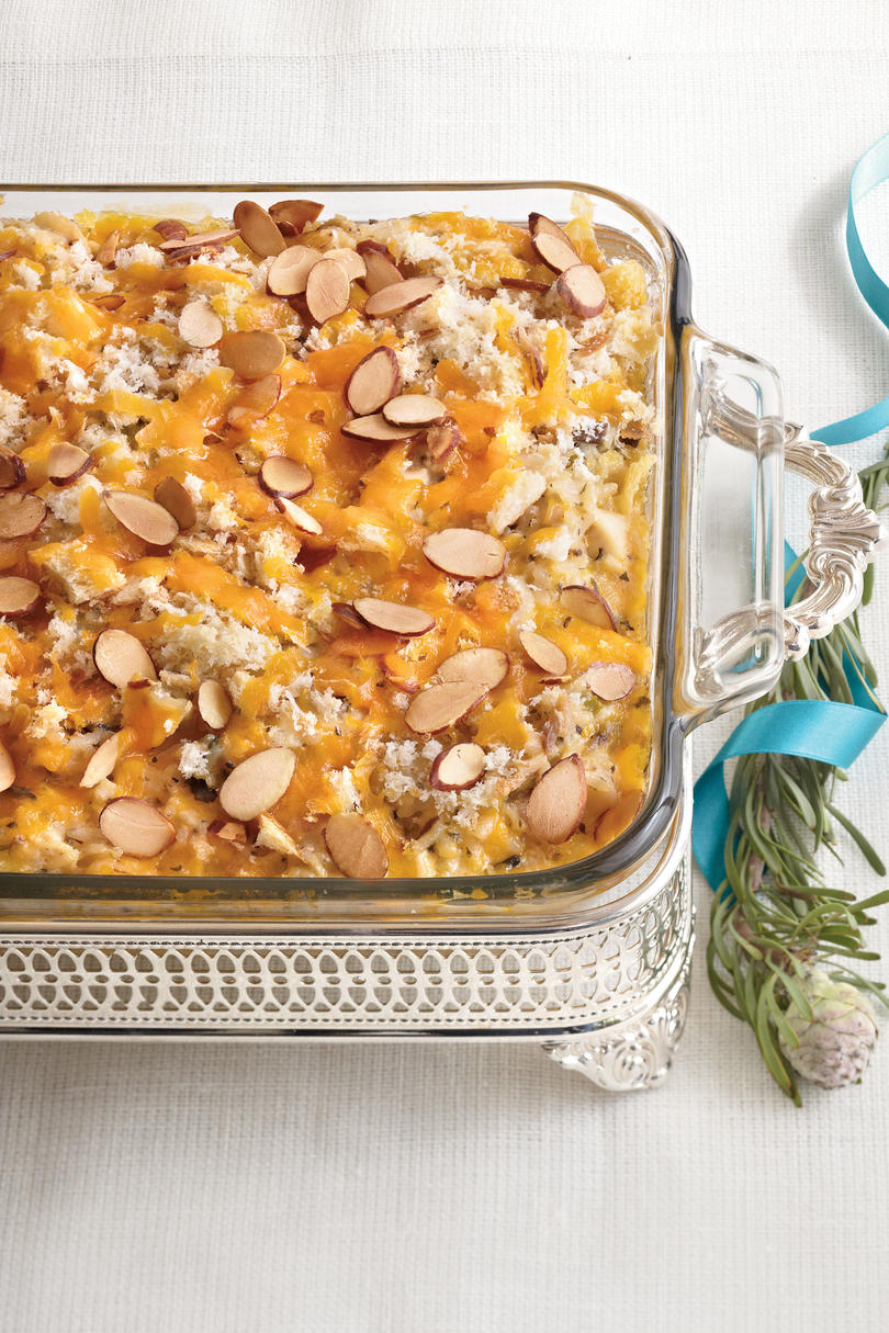 Chicken-and-Wild Rice Casserole