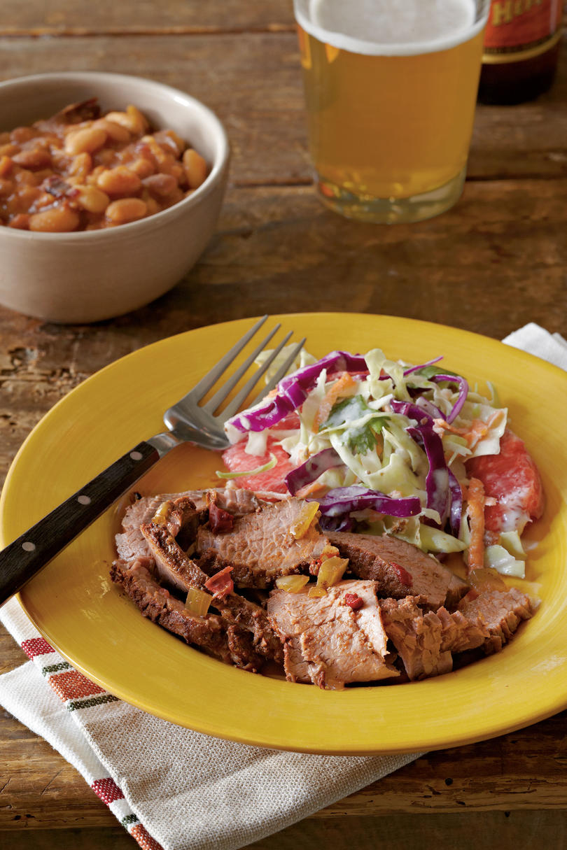 Texas-Style Barbecued Beef Brisket