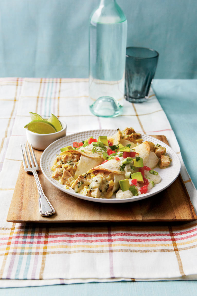 Quick and Easy Dinner Recipes: Chicken Enchiladas