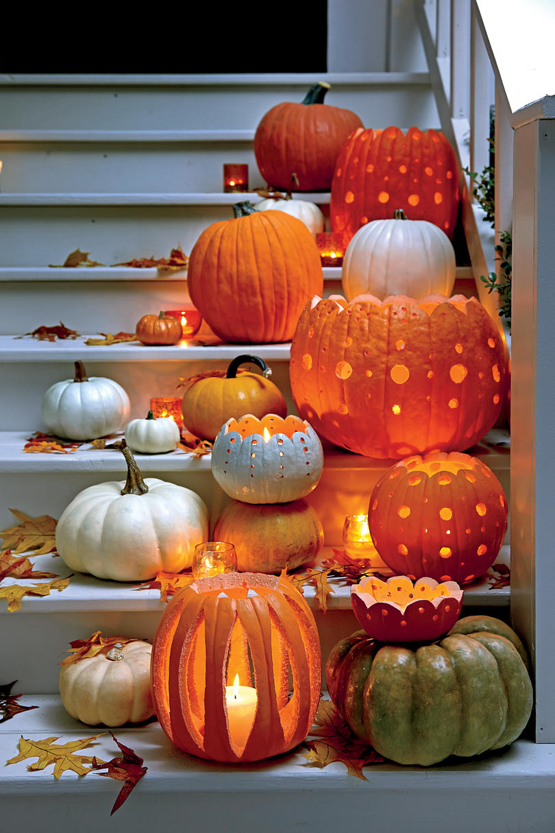 White Pumpkin Decorating Ideas