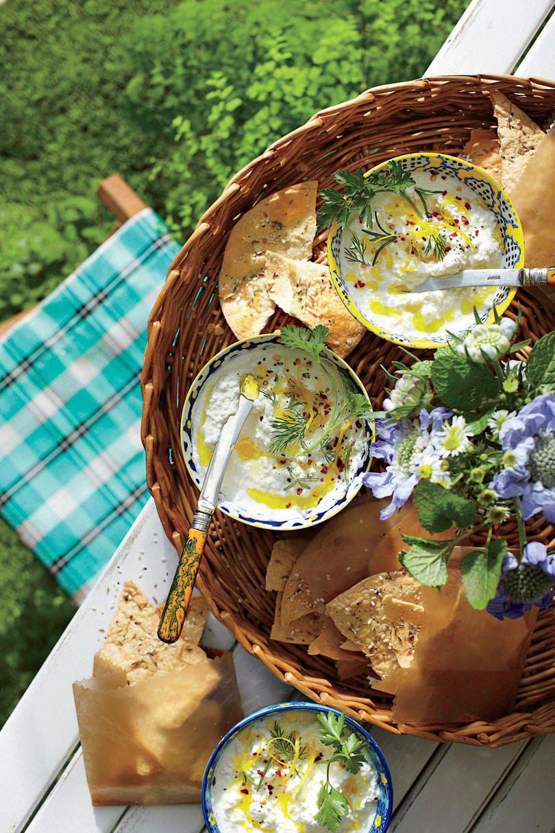 Outdoor Appetizer Recipe Ideas - Southern Living on Southern Outdoor Living id=66636