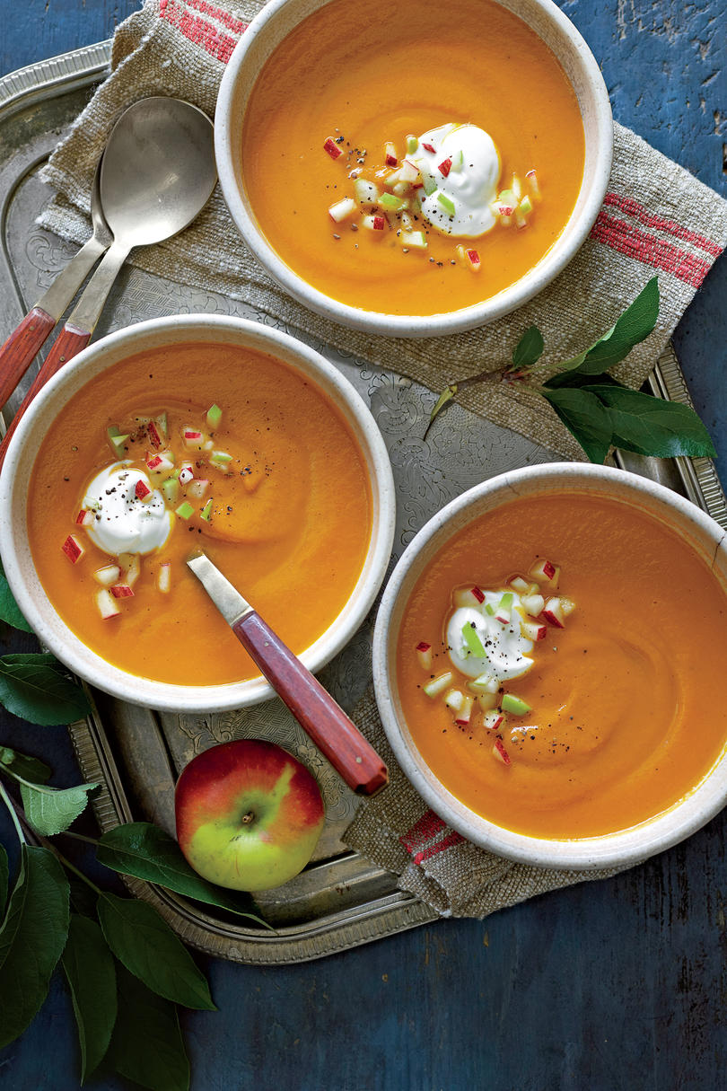 Carrot-Apple Soup Recipe