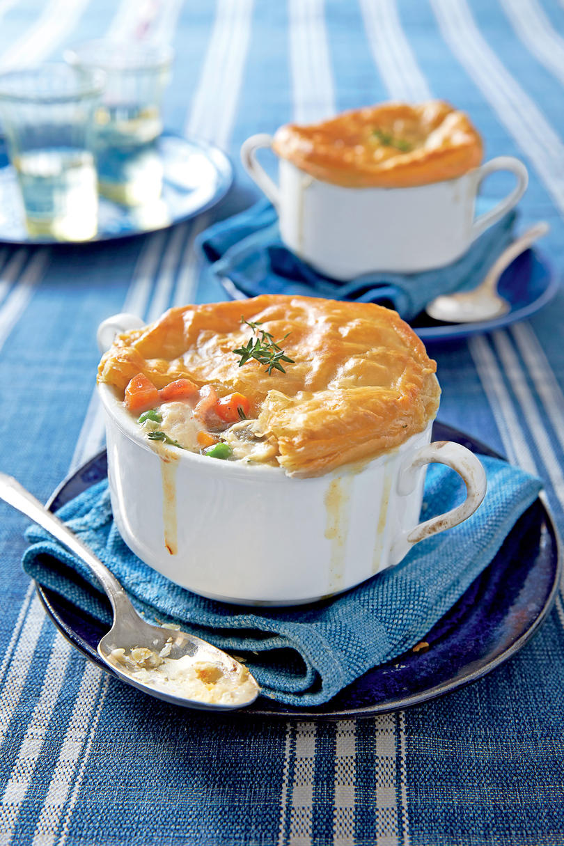 Old fashioned chicken pot pie recipe southern living loaded chicken bacon pot pie forumfinder Images