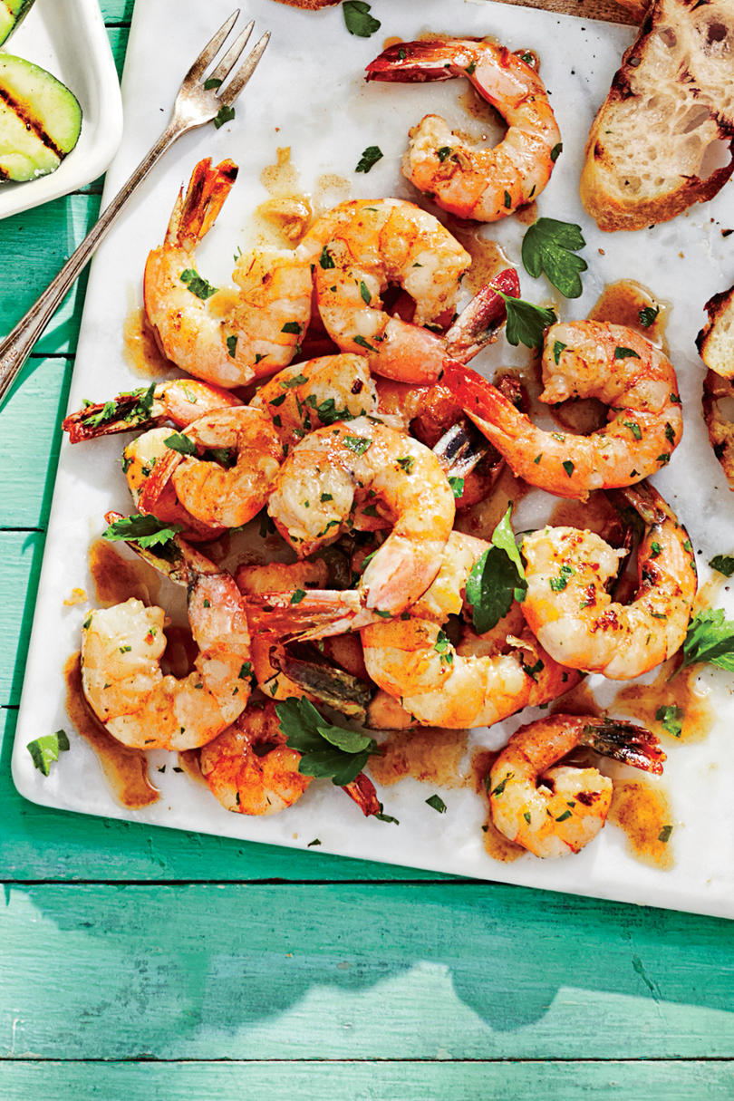 Buttery Garlic Shrimp