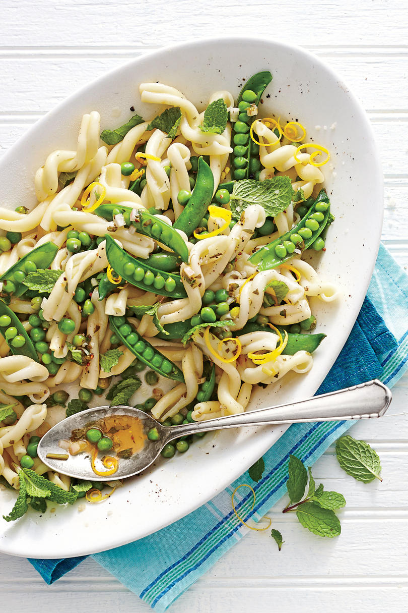 Sweet Pea-and-Mint Pasta Toss
