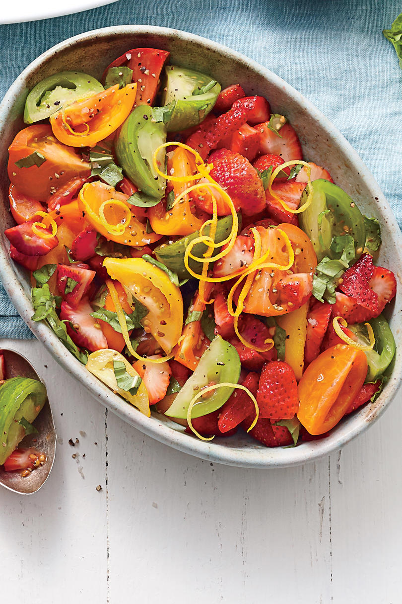 Strawberry-Tomato Salad
