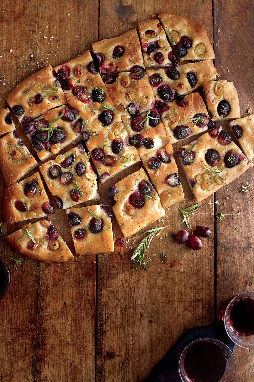Grape Focaccia Recipe