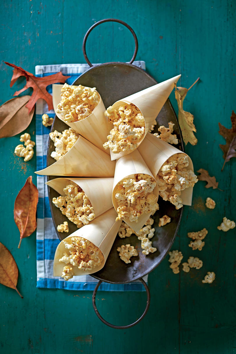 Sugar-and-Spice Caramel Popcorn Recipe