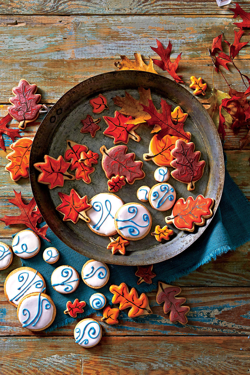 Pumpkin Pie Cutout Cookies