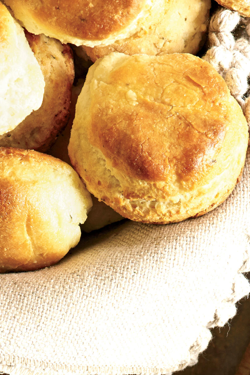 Herb-and-Cream Biscuits Recipe