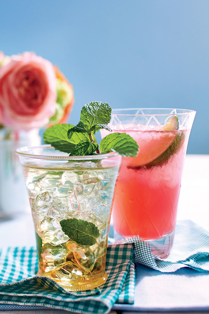 The SL Mint Julep and The Blush Lily