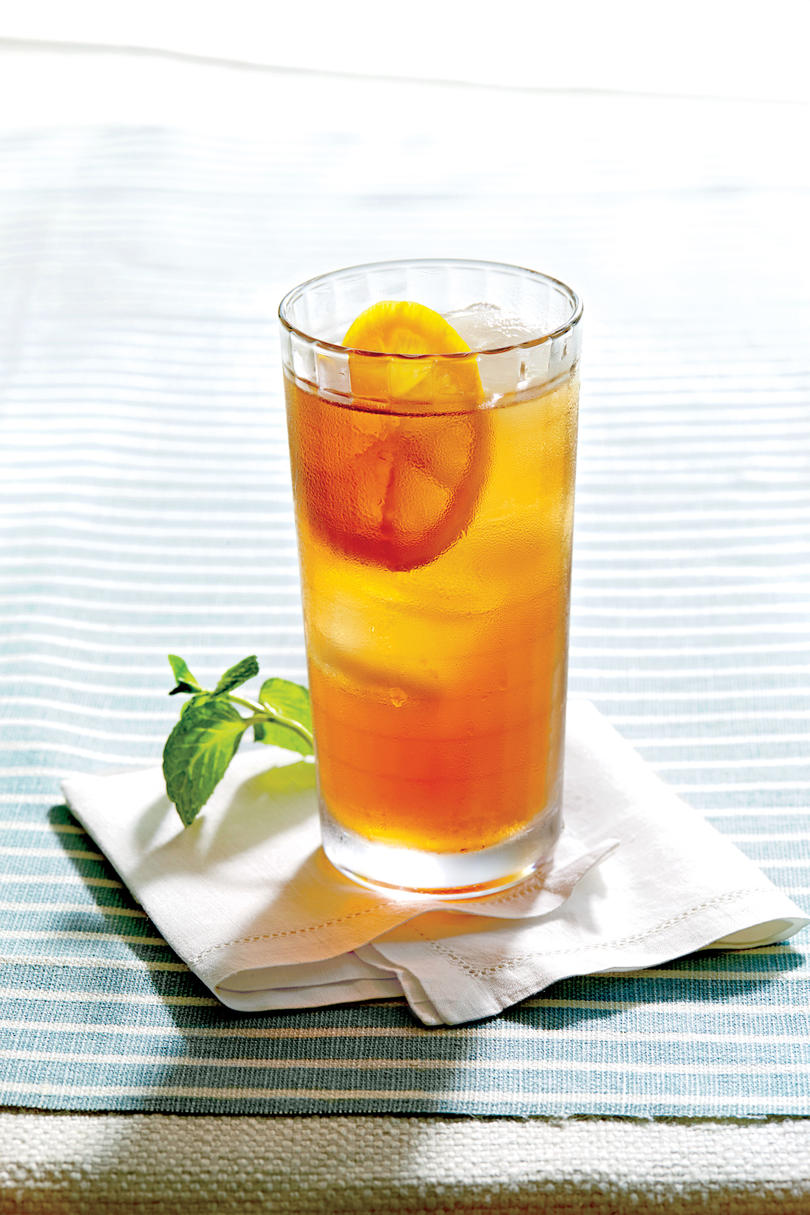 Non alcoholic festive drinks for a baby shower southern for Drinks with iced tea