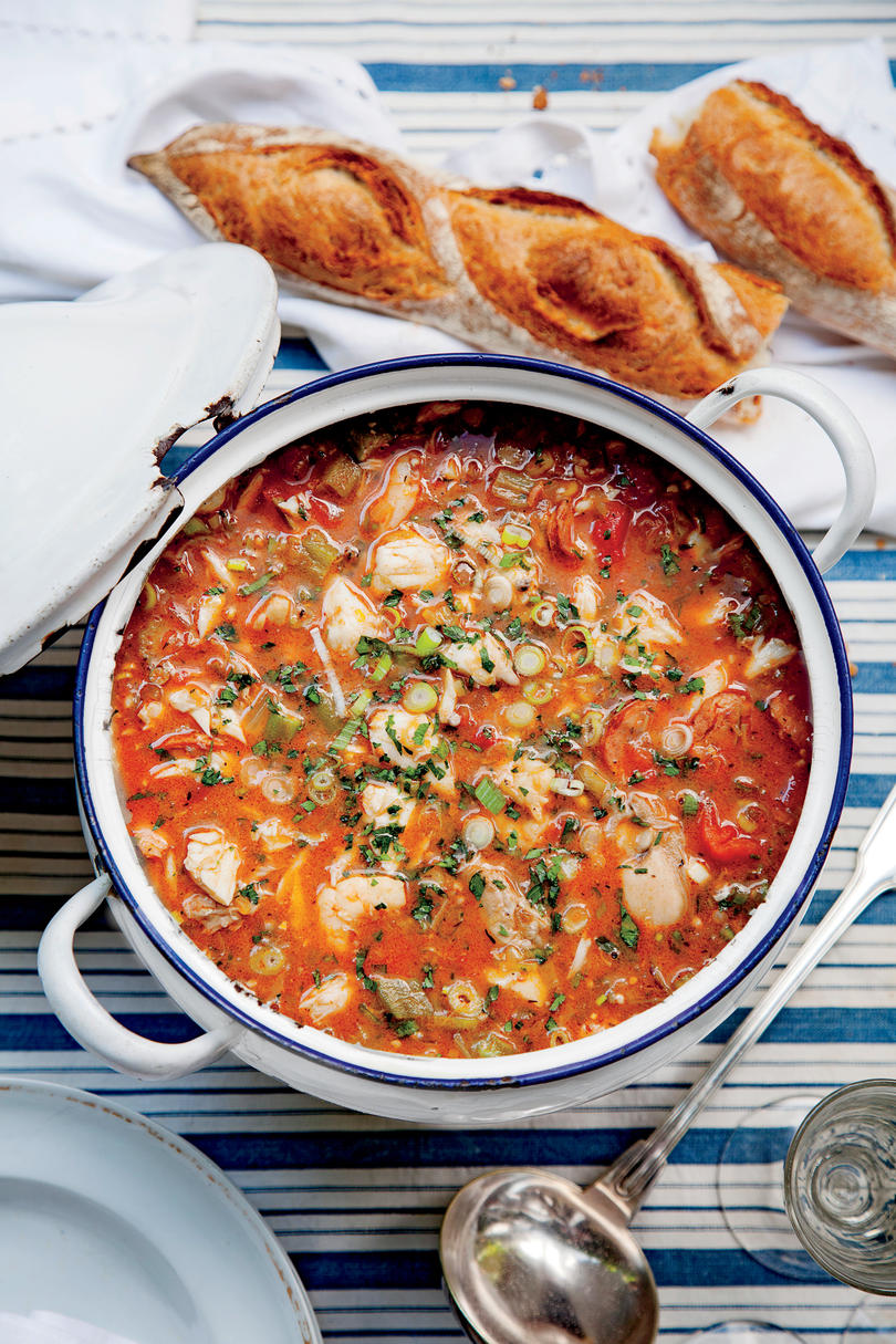Classic mardi gras recipes southern living best ever seafood gumbo forumfinder Choice Image
