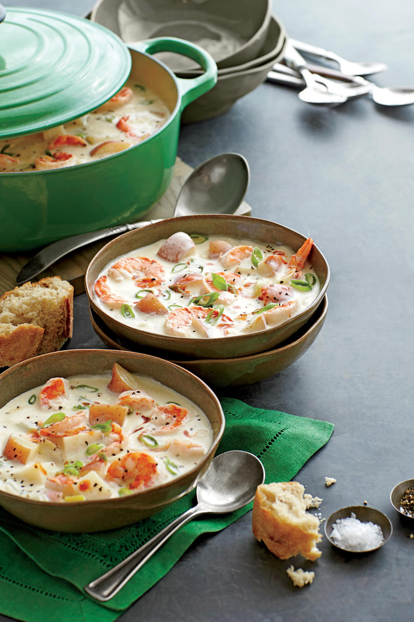 Shrimp-and-New Potato Chowder