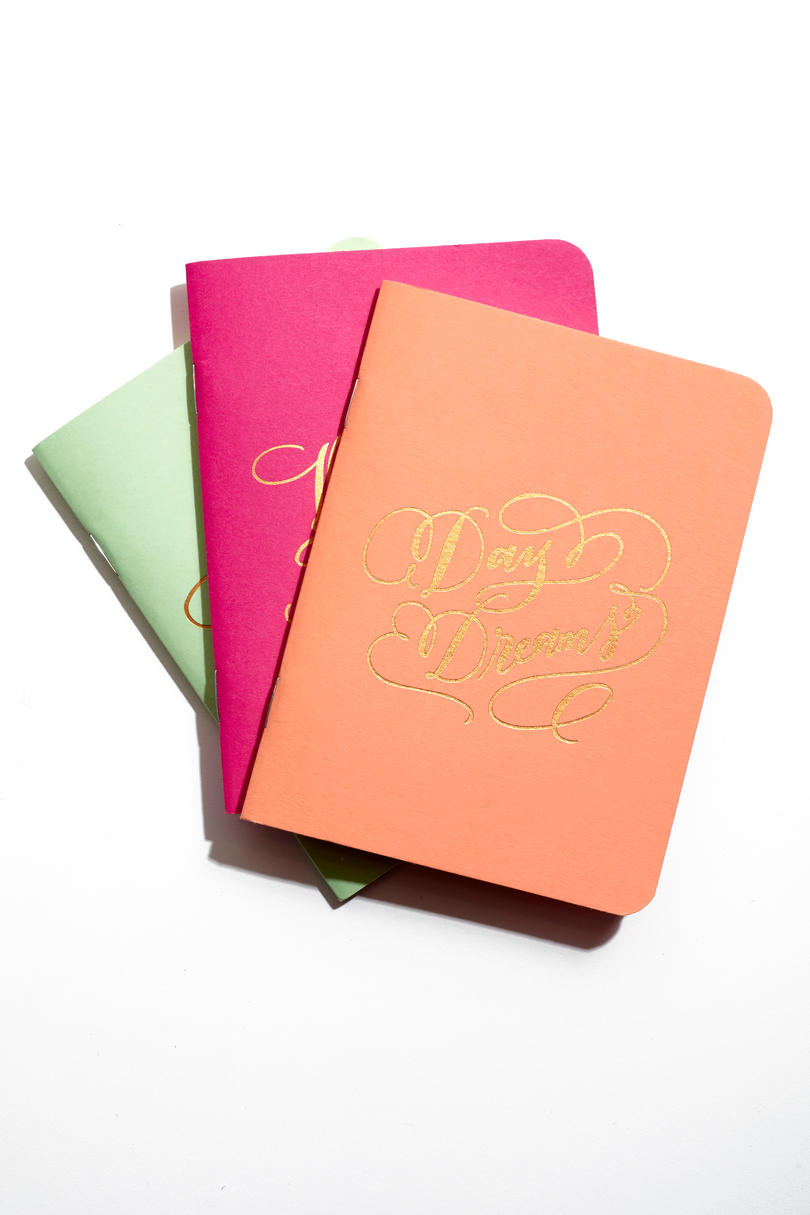Copper Foil Notebook