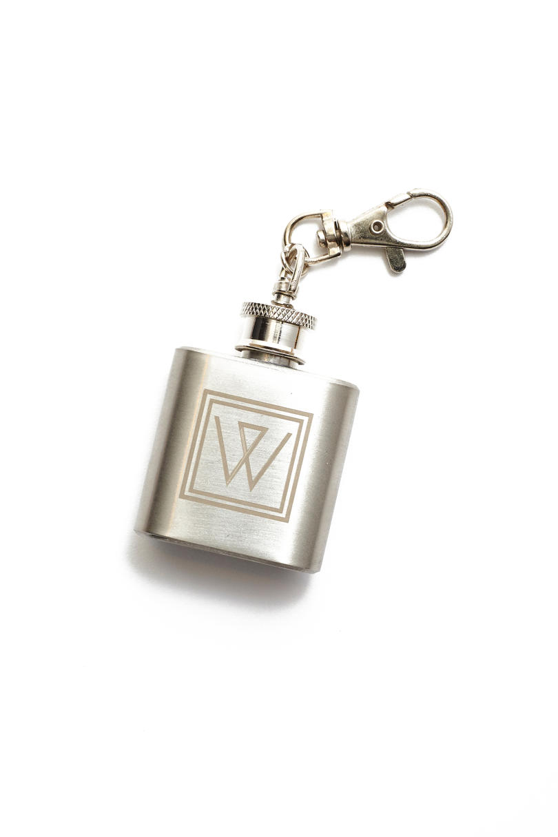 Stainless Steel Whiskey Flask
