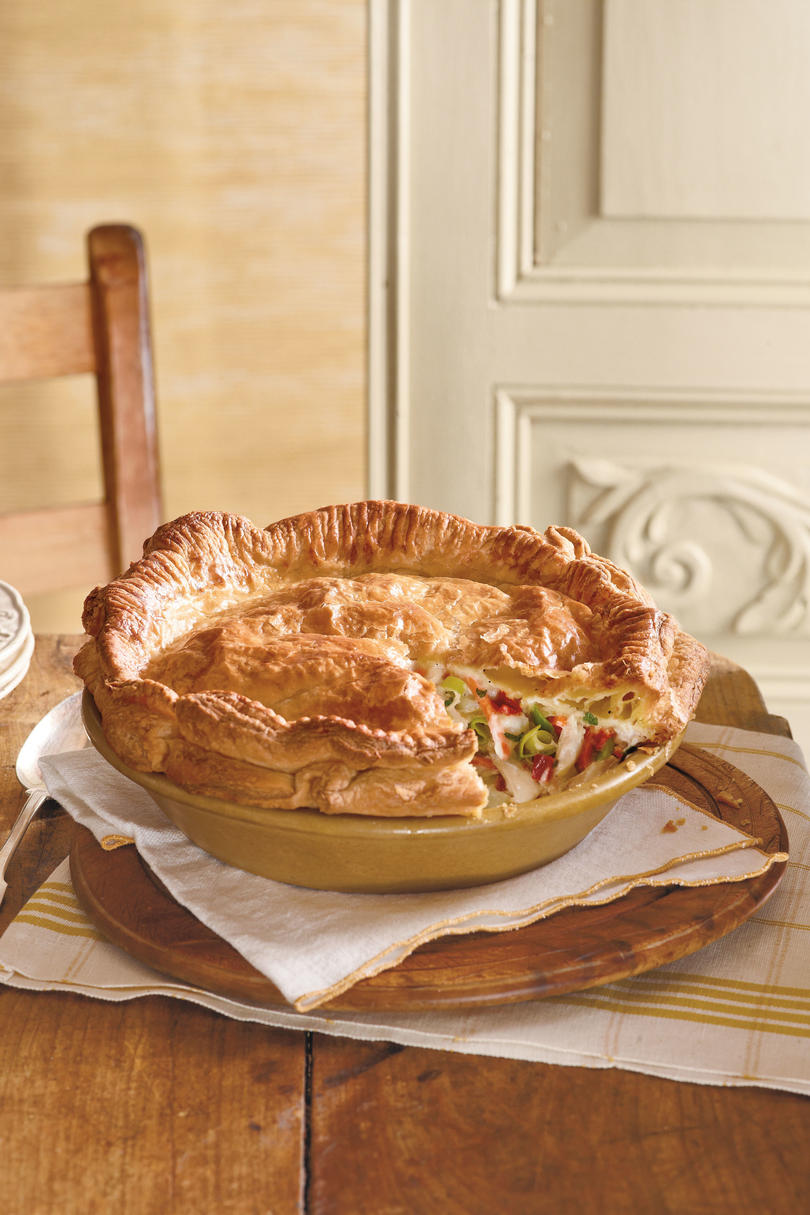 Mama's Way: Double-Crust Chicken Pot Pie