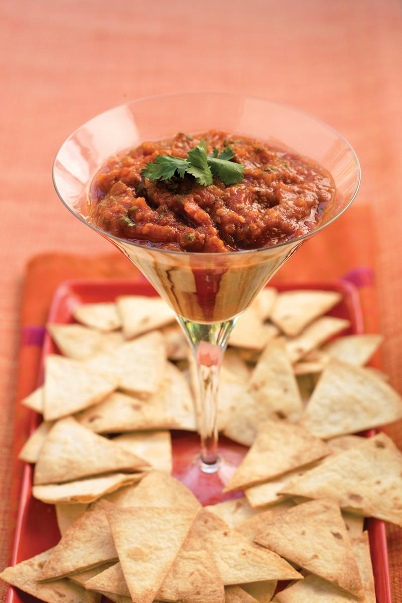 Dressed-Up Salsa recipe