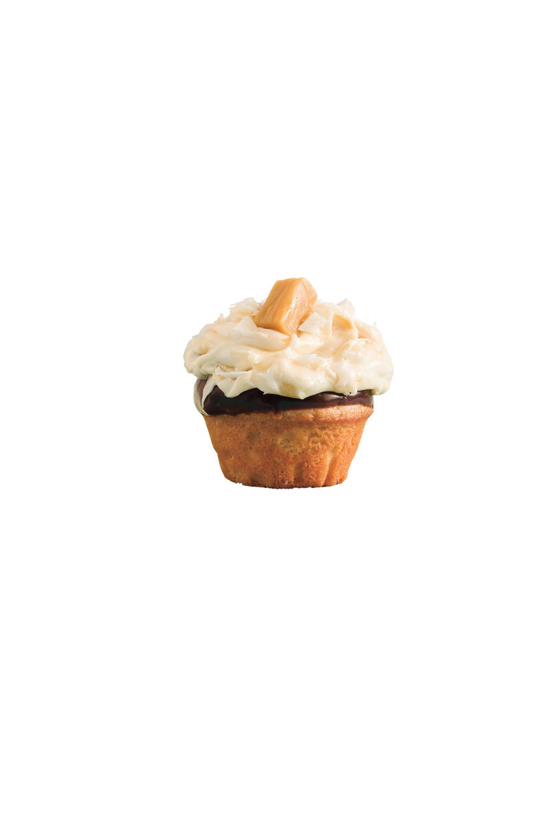 Cupcake Recipes: Salted Caramel-Chocolate Cupcakes