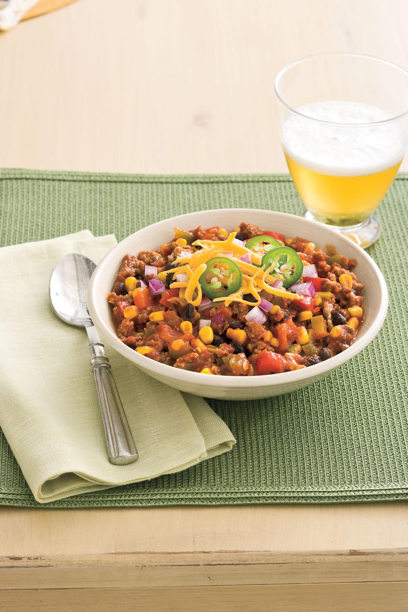 Slow Cooker Recipes: Slow-cooker Turkey Chili Recipes