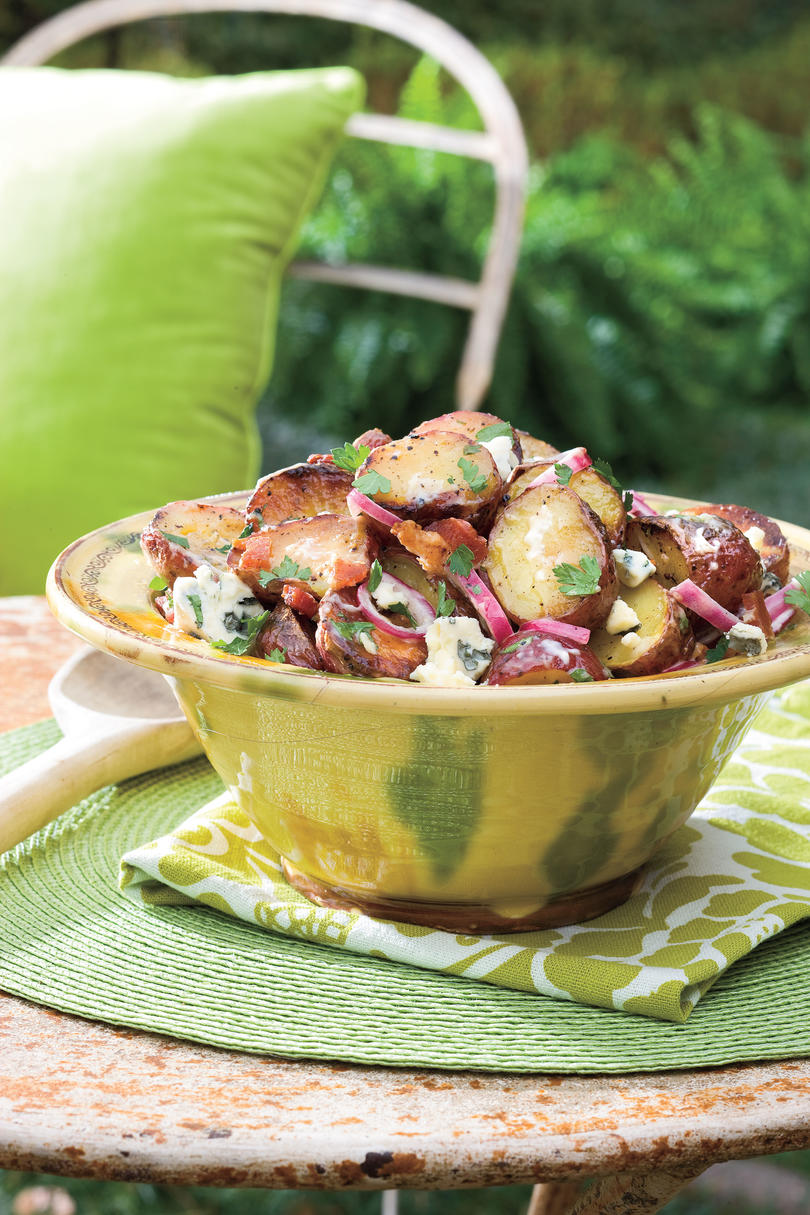 Big Al's Grilled Bacon and Blue Cheese Potato Salad